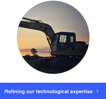 Refining our technological expertise through extensive research and development